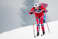 Petter Jr. Northug of Norway during mens 10km Classic individual start of the Tour de Ski 2014 of the FIS cross country World cup on January 4th, 2014 in Cross Country Centre Lago di Tesero, Val di Fiemme, Italy. (Photo by Urban Urbanc / Sportida)