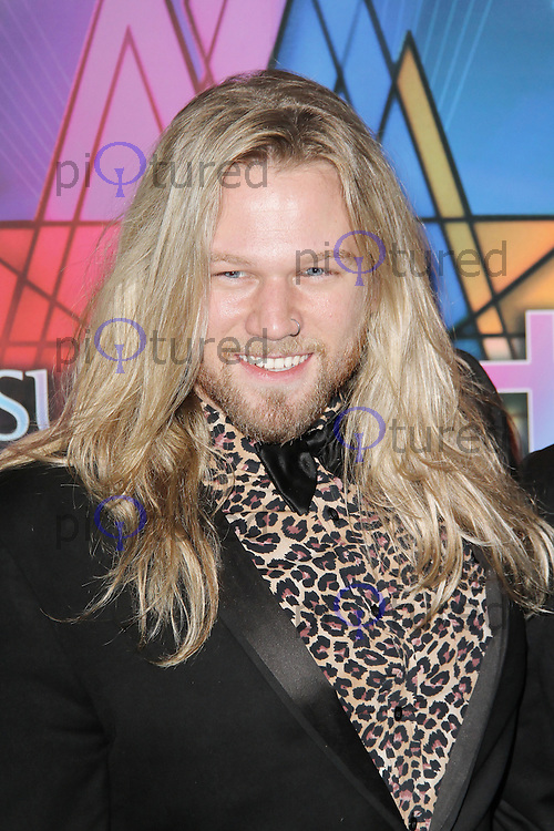 LONDON - SEPTEMBER 21: Nathan James attended the Launch Night of 'Jesus Christ Superstar' at the O2 Arena, Greenwich, London, UK. September 21, 2012. (Photo by Richard Goldschmidt)