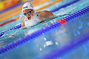 Fanny Deberghes (FRA) competeson Women's 200 m Breaststroke during the Swimming European Championships Glasgow 2018, at Tollcross International Swimming Centre, in Glasgow, Great Britain, Day 5, on August 6, 2018 - Photo Stephane Kempinaire / KMSP / ProSportsImages / DPPI