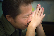 Tetsuya Hayashi, 43, jobbade med uppr&ouml;jningsarbetet p&aring; k&auml;rnkraftverket Daiichi, Fukushima, Japan.<br />