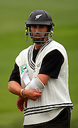 Matthew Sinclair.<br /> National Bank Test Match Series, New Zealand v England, Black Caps Nets Practice. Allied Prime Basin Reserve, New Zealand. Tuesday, 11 March 2008. Photo: Dave Lintott/PHOTOSPORT