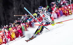 "29.01.2019, Planai, Schladming, AUT, FIS Weltcup Ski Alpin, Slalom, Herren, 1. Lauf, im Bild Dave Ryding (GBR) // Dave Ryding of United Kingdom in action during his 1st run of men's Slalom ""the Nightrace"" of FIS ski alpine world cup at the Planai in Schladming, Austria on 2019/01/29. EXPA Pictures © 2019, PhotoCredit: EXPA/ JFK"