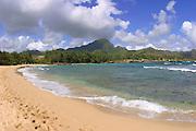 Kawailoa Bay, Mahaulepu Beach, Kauai, Hawaii<br />