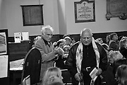 TERENCE STAMP; STEVEN BERKOFF; , A Service of Thanksgiving for the life of RAPHAEL B JAGO. The Actors' Church , St.  Paul's Covent  Garden. London. 2 June 2015