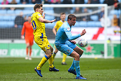Gavin Reilly of Bristol Rovers takes on Tom Davies of Coventry City - Mandatory by-line: Robbie Stephenson/JMP - 07/04/2019 - FOOTBALL - Ricoh Arena - Coventry, England - Coventry City v Bristol Rovers - Sky Bet League One