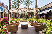 Seating Area at The Gardens at El Paseo Shopping District of Palm Desert