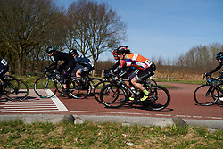 Natalie van Gogh (NED) at Healthy Ageing Tour 2018 - Stage 3a, a 66.2 km road race starting and finishing in Winschoten on April 6, 2018. Photo by Sean Robinson/Velofocus.com