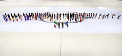 February 9, 2019 - Torino, Italia - Foto LaPresse/Nicolò Campo .9/02/2019 Torino (Italia) .Sport.ISU World Cup Short Track Torino - Cerimonia di apertura .Nella foto: veduta generale..Photo LaPresse/Nicolò Campo .February 9, 2019 Turin (Italy) .Sport.ISU World Cup Short Track Turin - Opening Cerimony.In the picture: general view (Credit Image: © Nicolò Campo/Lapresse via ZUMA Press)
