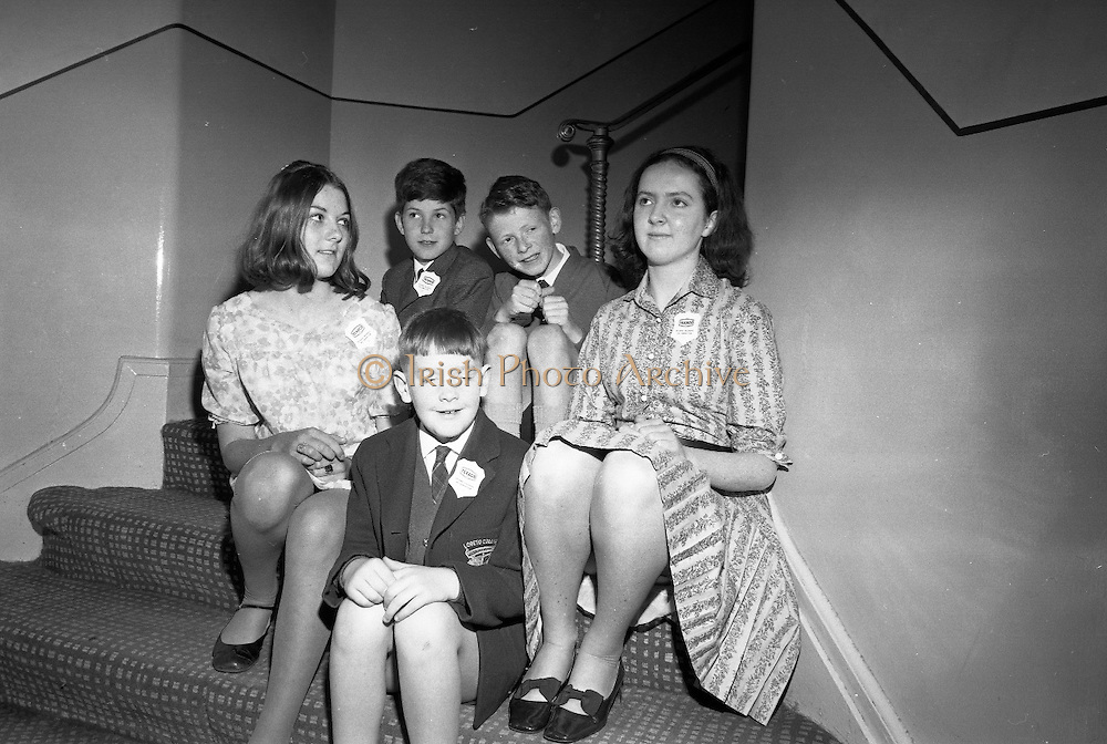 Children at Butlins Mosney Holiday Camp, Co. Meath. Mosney was the first Butlins opned outside the U.K..04.06.1968