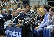 KOSARKA, BEOGRAD, 04. Nov. 2010. - Vlade Divac. Utakmica 3. kola Evrolige za sezonu 2010/2011 izmedju Partizana i Makabija odigrane u hali Pionir. Euroleague 2. round Partizan vs Maccabi Electra.  Foto: Nenad Negovanovic