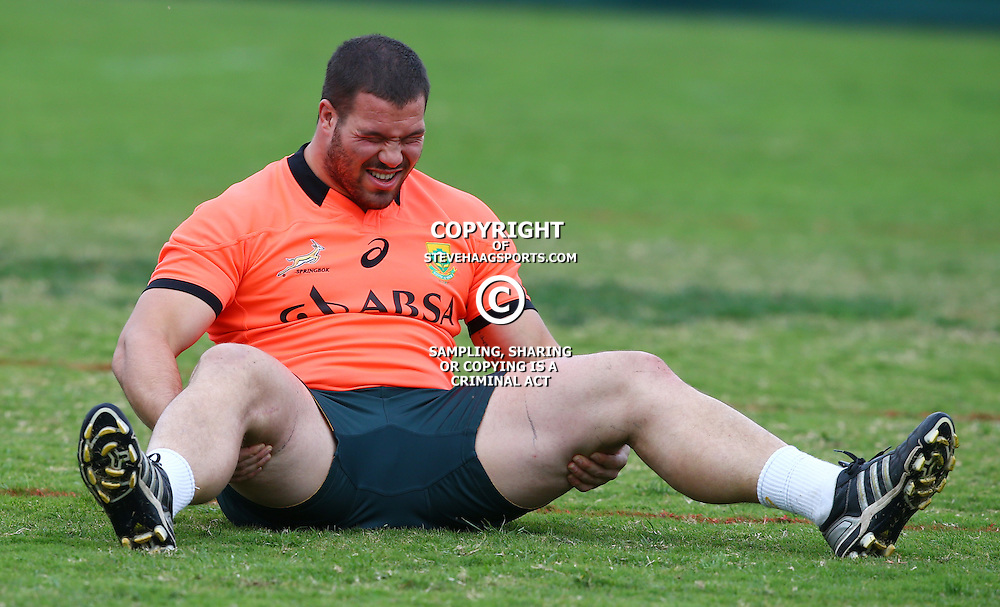 DURBAN, SOUTH AFRICA Monday 10 August<br /> Marcel van der Merwe during the South African team training at People&rsquo;s Park, Moses Mabhida Stadium  Durban, South Africa. (Photo by Steve Haag)