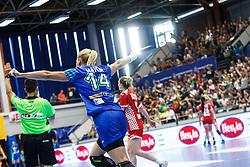 Tamara Mavsar of Slovenia during qualifying match for world championship between Slovenia and Croatia in Dvorana Golovec , Celje, Slovenia. Photo by Grega Valancic / Sportida