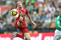 FOOTBALL - FRENCH CHAMPIONSHIP 2010/2011 - L1 - AS SAINT ETIENNE v VALENCIENNES FC - 3/04/2011 - PHOTO ERIC BRETAGNON / DPPI - GREGORY PUJOL (VA)