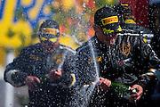 Podium Celebration<br /> Round 7<br /> Canadian Tire Motorsport Park <br /> July 12, 2014