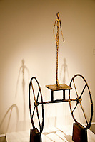 National Gallery, Washington DC. Sculpture by Giacometti.