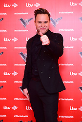 Olly Murs attending the Voice UK launch at the W Hotel, London.