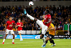 Paul Pogba of Manchester United controls the ball - Mandatory by-line: Robbie Stephenson/JMP - 19/08/2019 - FOOTBALL - Molineux - Wolverhampton, England - Wolverhampton Wanderers v Manchester United - Premier League