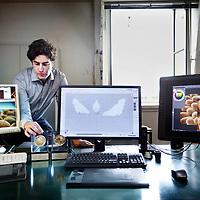 Nederland, Amsterdam , 29 april 2014.<br /> Martijn Rijnberg, oprichter Cortical Studios, een animatie studio.<br /> Foto:Jean-Pierre Jans