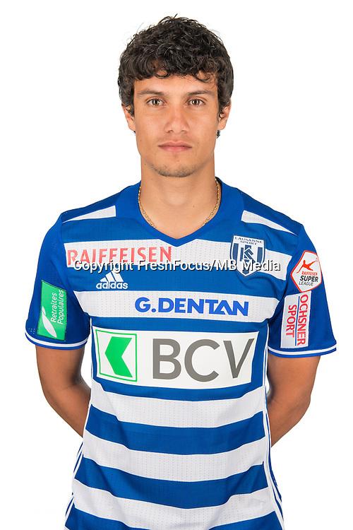 30.08.2016; Lausanne; Fussball Super League - Portrait FC Lausanne;<br /> Yeltsin Tejeda<br /> (HO/freshfocus)
