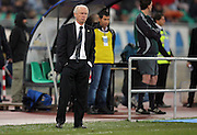 Ireland coach Giovanni Trapattoni during the FIFA 2010 World Cup Qualifier between Italy and The Republic of Ireland in the Stadio San Nicola on April 1, 2009 in Bari, Italy.