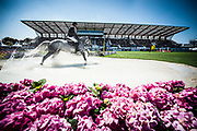 Mathieu BILLOT (FRA) riding VENT DU SUD KERGLENN during the Derby Region Pays de la Loire Competition of the International Show Jumping of La Baule 2018 (Jumping International de la Baule), on May 19, 2018 in La Baule, France - Photo Christophe Bricot / ProSportsImages / DPPI