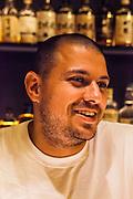 Chef Matt Abergel at Ronin, 8 On Wo Lane, Hong Kong