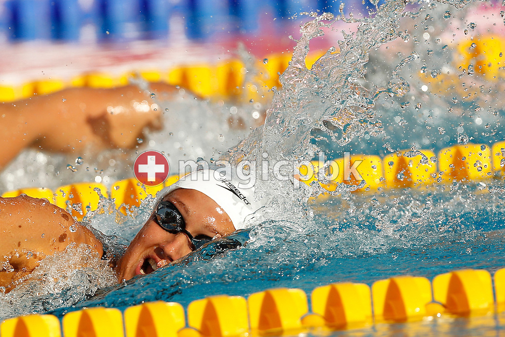 Mireia BELMONTE GARCIA of Spain swims on the Freestyle (Crawl) leg in the women's 200m Individual Medley (IM) Semifinal 1 at the European Swimming Championship at the Hajos Alfred Swimming complex in Budapest, Hungary, Wednesday, Aug. 11, 2010. (Photo by Patrick B. Kraemer / MAGICPBK)