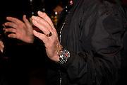 RON FERRI'S HANDS, Tudor presentation. Triennale Museum of Milan. Milan. 29 September 2008 *** Local Caption *** -DO NOT ARCHIVE-© Copyright Photograph by Dafydd Jones. 248 Clapham Rd. London SW9 0PZ. Tel 0207 820 0771. www.dafjones.com.