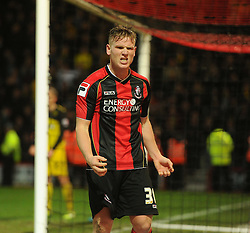 Frustrated Bournemouth's Matt Ritchie. - Photo mandatory by-line: Alex James/JMP - Tel: Mobile: 07966 386802 18/01/2014 - SPORT - FOOTBALL - Goldsands Stadium - Bournemouth - Bournemouth v Watford - Sky Bet Championship