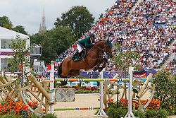 Al Duhami Ramzy (KSA) - Baryard de Villa Theresia<br /> Olympic Games London 2012<br /> © Dirk Caremans