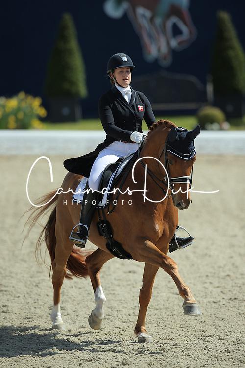 Dufour Cathrine, (DEN), Atterupgaards Cassidy<br /> Qualification Grand Prix Special<br /> Horses & Dreams meets Denmark - Hagen 2016<br /> © Hippo Foto - Stefan Lafrentz