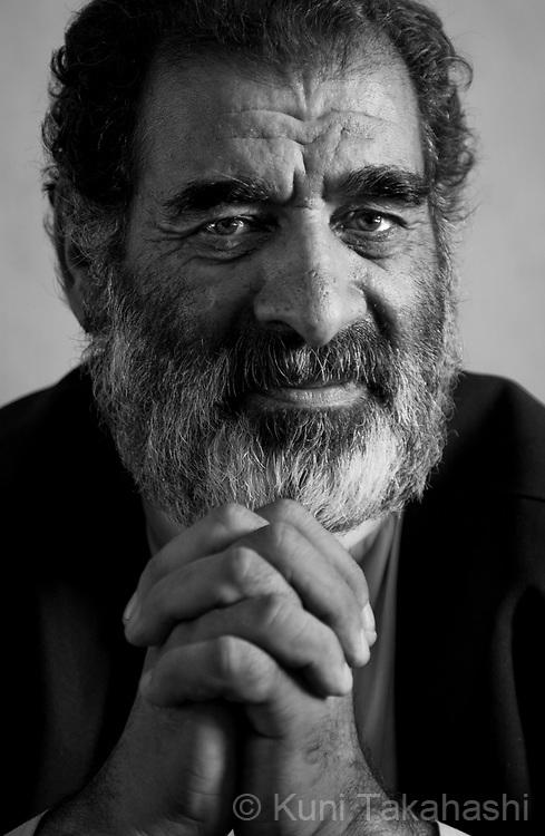 Abdul Dayan, 67, Kandahar, businessman.in Kandahar, Afghanistan on Aug 17, 2011.(Photo by Kuni Takahashi)