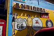 .Street Scene in Las Vegas, Nevada.