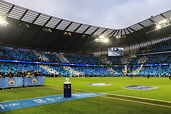 A general view of the Etihad Stadium prior to kick off - Mandatory by-line: Matt McNulty/JMP - 10/04/2018 - FOOTBALL - Etihad Stadium - Manchester, England - Manchester City v Liverpool - UEFA Champions League Quarter Final Second Leg
