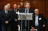 REPRO FREE***PRESS RELEASE NO REPRODUCTION FEE***<br /> Irish Sailing Awards, Royal College of Surgeons, Stephen's Green, Dublin 4/2/2016<br /> National Yacht Club sailor Liam Shanahan was named the 2015 Irish Sailor of the Year today at the Irish Sailing Awards in Dublin - Shanahan had a remarkable year, including victory in the Dun Laoghaire to Dingle race in June on his boat Ruth with two miles to spare.<br /> Kilkenny's Doug Elmes and Malahide's Colin O'Sullivan jointly took home the Irish Sailing Association (ISA) Youth Sailor of the Year award. The Howth Yacht Club sailors were hotly tipped following their recent Bronze medal success at the 2015 Youth World Championships in Malaysia, where they took Ireland's first doublehanded youth worlds medal in 19 years.<br /> The Mitsubishi Motors Sailing Club of the Year award was presented to the Royal Irish Yacht Club in honour of their success at local, national and international level.<br /> Mullingar Sailing Club took home the ISA Training Centre of the Year award, having been nominated as winners of the western-region Training Centre of the Year.<br /> Pictured is Winkie Nixon<br /> Mandatory Credit ©INPHO/Cathal Noonan