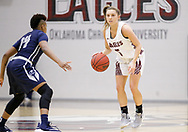 February 28, 2019: The University of Arkansas-Fort Smith Lions play against the Oklahoma Christian University Lady Eagles in the Eagles Nest on the campus of Oklahoma Christian University.