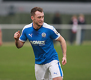 Dover striker Ricky Miller during the FA Trophy match between Whitehawk FC and Dover Athletic at the Enclosed Ground, Whitehawk, United Kingdom on 12 December 2015. Photo by Bennett Dean.