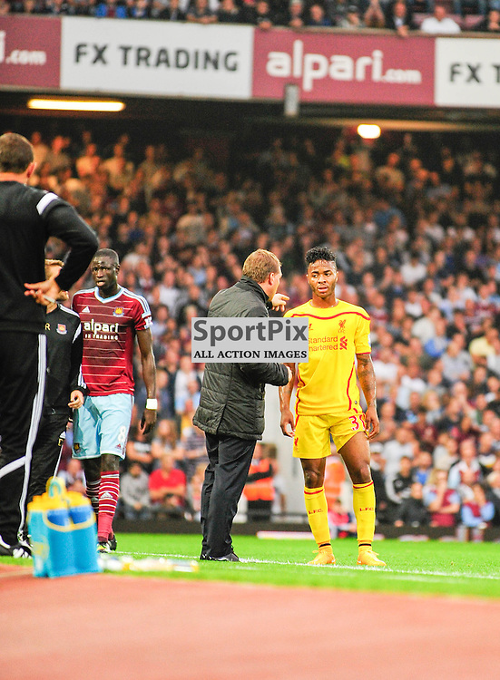 (c) Andrea Putzolu | SPORTPIX.ORG.UK<br /> 31 Midfielder Raheem Sterling it has been called by a manager Manager Sam Allardyce