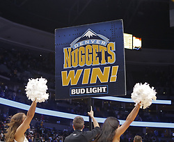 October 21, 2017 - Denver, Colorado, U.S - The Denver Nuggets win at the Pepsi Center Saturday night. The Nuggets beat the Kings 96-79. (Credit Image: © Hector Acevedo via ZUMA Wire)
