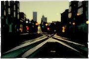 Streetcar track, San Francisco