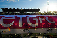 Illustration Parc des sports - 09.05.2015 -  Evian Thonon / Reims  - 36eme journee de Ligue 1<br />