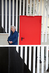 Daniel Buren at MACRO - Print Conference for a site specific artwork