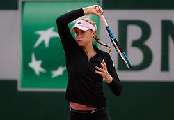 May 21, 2019 - Paris, FRANCE - Kristina Mladenovic of France practices at the 2019 Roland Garros Grand Slam tennis tournament (Credit Image: © AFP7 via ZUMA Wire)