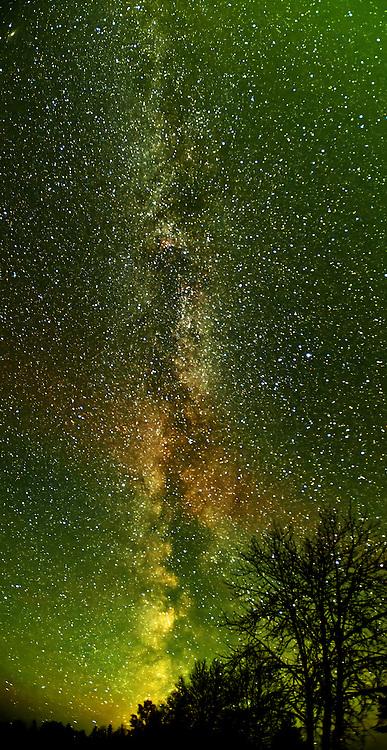 Milky Way at Klotz Lake<br /> Longlac<br /> Ontario<br /> Canada