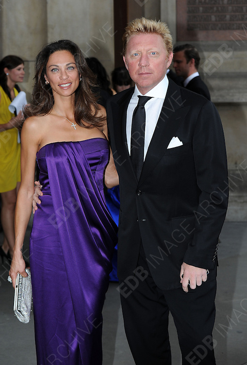 25.JULY.2012. LONDON<br /> <br /> THE SPORTS FOR PEACE - FUNDRAISING BALL, HELD IN THE RAPHAEL GALLERY OF THE V&amp;A, ON WEDNESDAY JULY 25, 2012.<br /> <br /> BYLINE: EDBIMAGEARCHIVE.CO.UK<br /> <br /> *THIS IMAGE IS STRICTLY FOR UK NEWSPAPERS AND MAGAZINES ONLY*<br /> *FOR WORLD WIDE SALES AND WEB USE PLEASE CONTACT EDBIMAGEARCHIVE - 0208 954 5968*