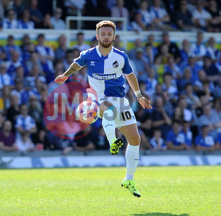 Matt Taylor of Bristol Rovers - Mandatory byline: Neil Brookman/JMP - 07966386802 - 08/08/2015 - FOOTBALL - Memorial Stadium -Bristol,England - Bristol Rovers v Northampton Town - Sky Bet League Two
