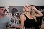 Zoe Salmon; Greg Burns; PUMA/London College Of Fashion - private view. London College of Fashion at Carnaby, 65 - 67 Broadwick St, London W1,