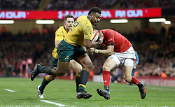 Australia's Samu Kerevi during the Autumn International at the Principality Stadium, Cardiff. PRESS ASSOCIATION Photo. Picture date: Saturday November 11, 2017