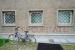 East German secret Police headquarters  now STASI Museum in Berlin Germany