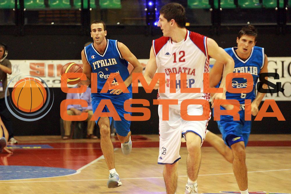 DESCRIZIONE : Biella  Trofeo Internazionale Angelico Nazionale Maschile Italia Croazia<br /> GIOCATORE : Luigi Datome<br /> SQUADRA : Italia<br /> EVENTO : Trofeo Internazionale Angelico Nazionale Maschile Italia Croazia<br /> GARA : Italia Croazia<br /> DATA : 20/06/2009 <br /> CATEGORIA : Palleggio<br /> SPORT : Pallacanestro <br /> AUTORE : Agenzia Ciamillo-Castoria/S.Ceretti
